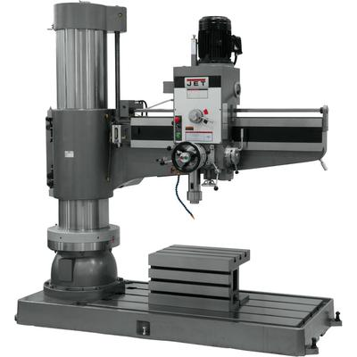 JET Radial Arm Drill Press - 12-Speed, 60 Inch, 7.5 HP, 460 Volt, Model J-1600R-4