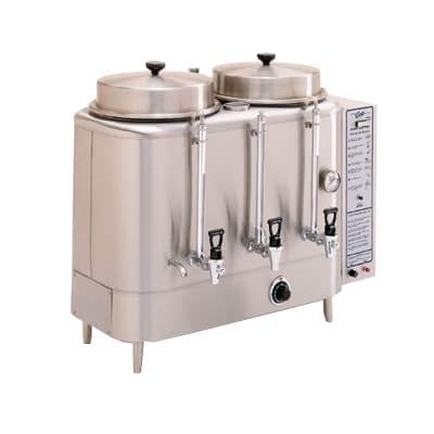 Curtis RU-300-35 Coffee Brewer w/ 3 gal Urn & Overflow Spout, NG on Sale