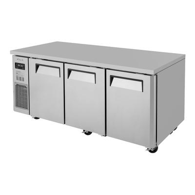 Turbo Air JURF-72-N 12.4 cu ft Undercounter Refrigerator/Freezer Combo w/ (3) Sections & (3) Doors, 115v on Sale