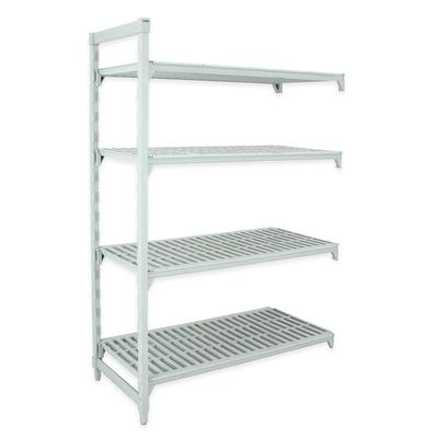 Cambro CPA244264V4480 Polymer Louvered Add-On Shelving Unit - 42L x 24W x 64H on Sale