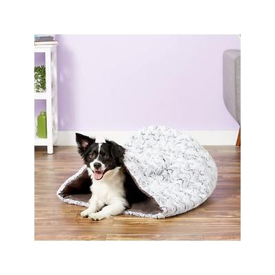 P.L.A.Y. Pet Lifestyle and You Snuggle Bed, Husky Gray, Large