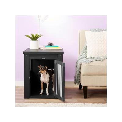 New Age Pet ecoFLEX Crate & End Table, Espresso, Medium