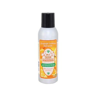 Pet Odor Exterminator Orange Lemon Splash Air Freshener, 7-oz spray; The Pet Odor Exterminator Orange Lemon Splash Air Freshener fills your home with a tropical paradise instead of lingering pet odors. This unique spray uses powerful enzymes to attack...