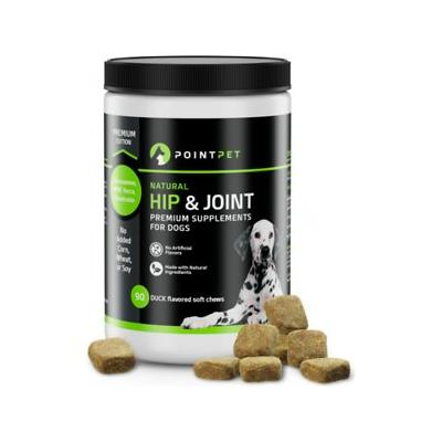 PointPet Glucosamine Chondroitin Hip & Joint Dog Supplement, 90 count