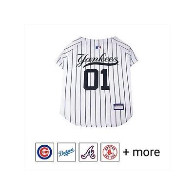 Pets First MLB Dog & Cat Jersey, New York Yankees, X-Small