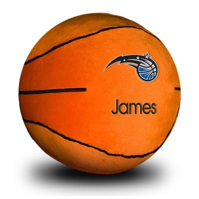 """Orange Orlando Magic Personalized Plush Baby Basketball"""
