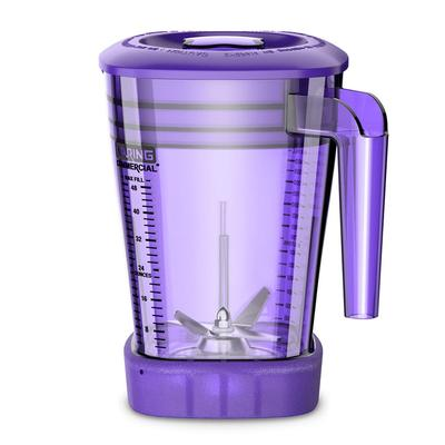 Waring CAC93X-10 48 oz The Raptor Blender Container for MX Series Blenders - Copolyester, Purple on Sale