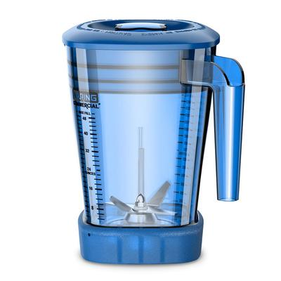 Waring CAC93X-06 48 oz The Raptor? Blender Container for MX Series Blenders - Copolyester, Blue