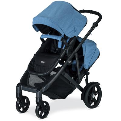 Britax B-Ready G3 Double Stroller - Lapis (Albee Baby Exclusive) on Sale
