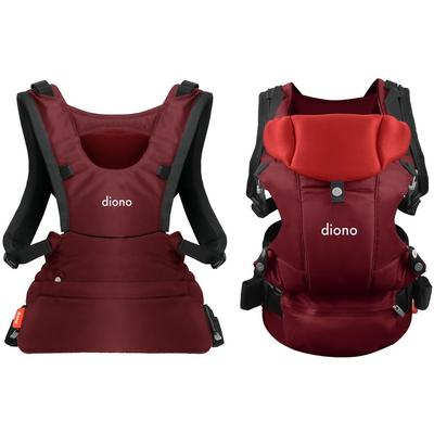 Diono Carus Essentials 3-in-1 Baby Carrier - Red