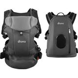 Diono - Diono Carus Complete 4-in-1 Baby Carrier + Detachable Backpack - Light Grey