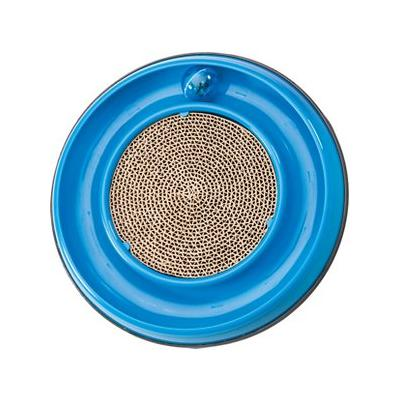 Ethical Pet Rockin Cat Scratcher Toy Cat Toy, Color Varies, 10-in; Rock and roll takes on a whole new meaning with Ethical Pet's Rockin' Cat Scratcher. This interactive cat toy will keep your feline busy for hours with its unique features. The circular...