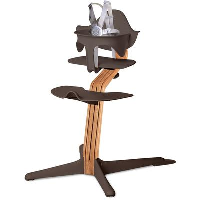 Nomi Highchair - Coffee/Natural Oak