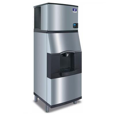 Manitowoc IDT0450A161/SPA310 470 lb Full Cube Ice Maker w/ Ice Dispenser - 180 lb Storage, Bucket Fill, 115v on Sale