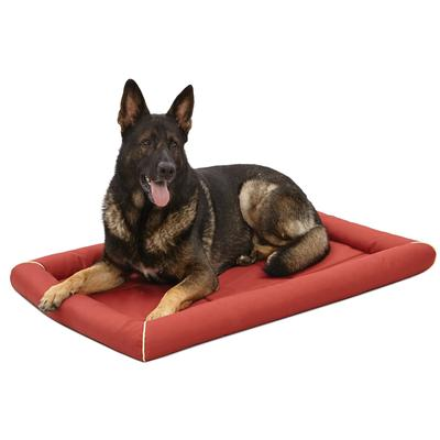 """Midwest Quiet Time Maxx Red Dog Bed, 48.5"""" L X 31"""" W, XX-Large"""