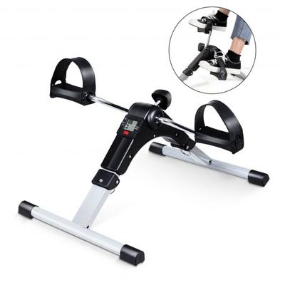 This is a portable exercise peddler with electronic display, with which you can start a effective exercise no matter while working in the office or watching TV at home.