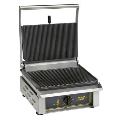 Equipex PANINI/1 Commercial Panini Press w/ Cast Iron Grooved Plates, 120 V on Sale