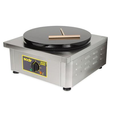 Equipex 350E 13.75 Single Crepe Maker w/ Cast Iron Plate, 208v/1ph on Sale