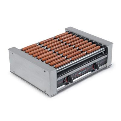 Nemco 8027 27 Hot Dog Roller Grill - Flat Top, 120v on Sale