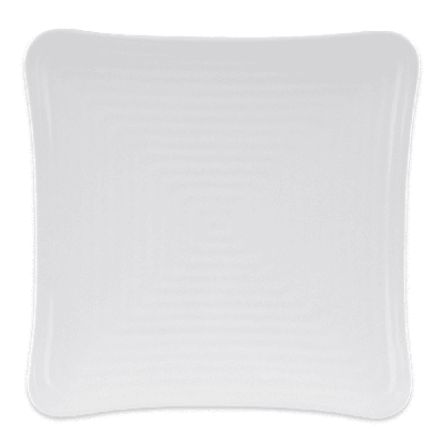 GET ML-63-W 10.25 Square Dinner Plate, Melamine, White on Sale