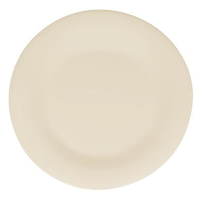 GET WP-9-DI 9 Round Dinner Plate, Melamine, Ivory on Sale