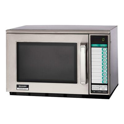 Sharp R25JTF 2100w Commercial Microwave Oven with Touch Pad, 230v/1ph on Sale