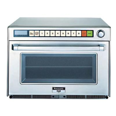Panasonic NE-2180 (2) Pan Microwave Steamer - Countertop, Programmable, Sonic Steamer, 208v/1ph on Sale