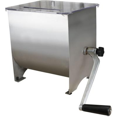 """""""Weston Products Outdoor Cooking Accessories Stainless Steel Manual Meat Mixer - 20 lb Capacity"""""""