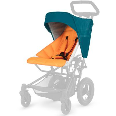 Micralite Fastfold Essential Pack Hood & Liner - Teal/Orange