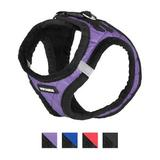 Best Pet Supplies - Best Pet Supplies Voyager Padded Faux Leather Dog Harness, Purple, Small