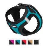 Best Pet Supplies - Best Pet Supplies Voyager Padded Fleece Dog Harness, Turquoise, X-Small