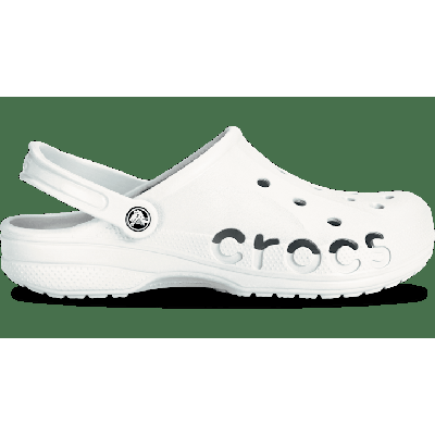 Crocs White Baya Clog Shoes