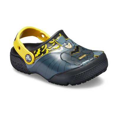 Crocs Black Kids' Crocs Fun Lab Iconic Batman™ Clog Shoes
