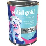 Solid Gold Love At First Bark Chicken, Potatoes & Apples Puppy Recipe Grain-Free Canned Dog Food, 13.2-oz, case of 6