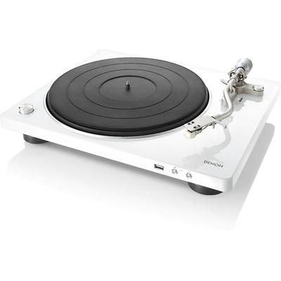 Denon DP450USB, white turntable ...