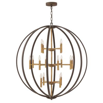 Hinkley Lighting Euclid 44 Inch Large Pendant - 3464SB