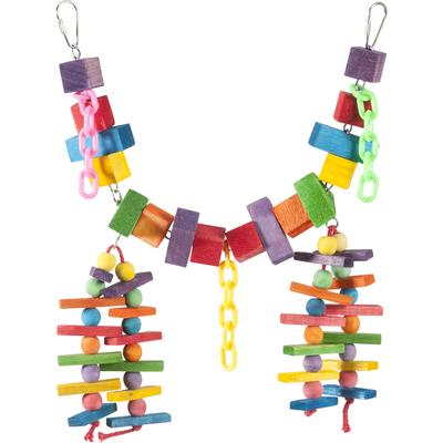 Hang this exciting toy in your bird\'s cage and watch him have a \