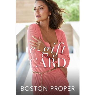 Boston Proper - Boston Proper Gift Card - - $195 Dollar