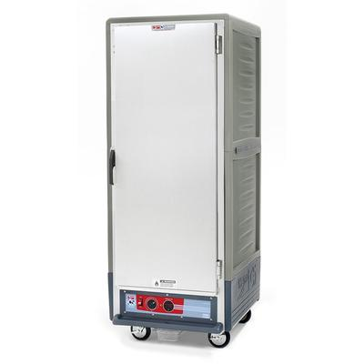 Metro C539-HLFS-L-GY Full Height Insulated Mobile Heated Cabinet w/ (35) Pan Capacity, 120v