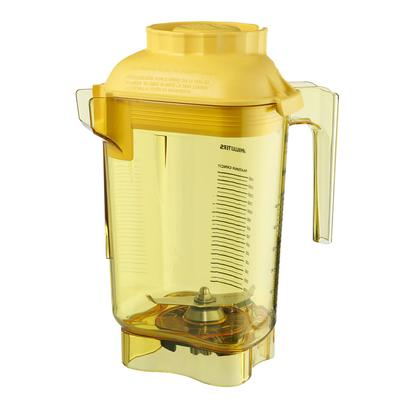 Vitamix Commercial 58989 48 oz Advance Complete Blender Container - Tritan, Yellow on Sale