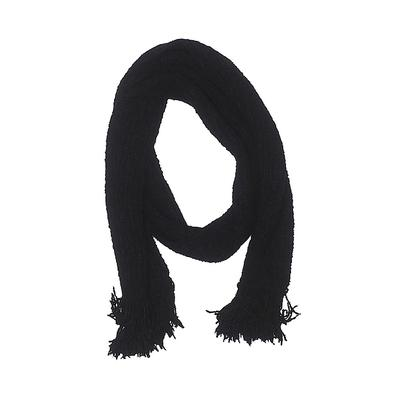 Fownes Scarf: Black Solid Accessories