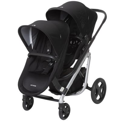 Maxi-Cosi Lila Double Stroller - Nomad Black