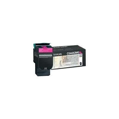 Lexmark - Extra High Yield - magenta - original - toner cartridge LCCP - for Lexmark C544, C546, X544, X546, X548