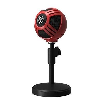 Arozzi Sfera Microphone, USB - Red
