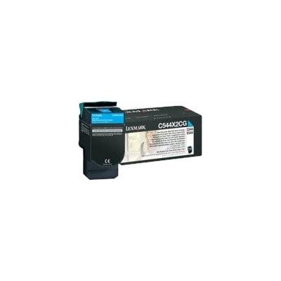 Lexmark - Extra High Yield - cyan - original - toner cartridge LCCP - for Lexmark C544, C546, X544, X546, X548