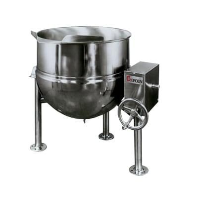 Crown Steam DL-20 20 gal. Steam Kettle - Stationary, 2/3 Jacket, Direct Steam on Sale