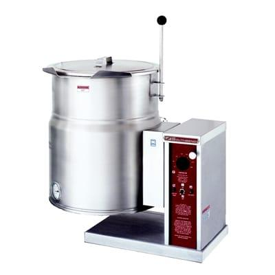 Crown Steam EC-12TW 12 gal. Steam Kettle - Manual Tilt, 2/3 Jacket, 208v/1ph on Sale