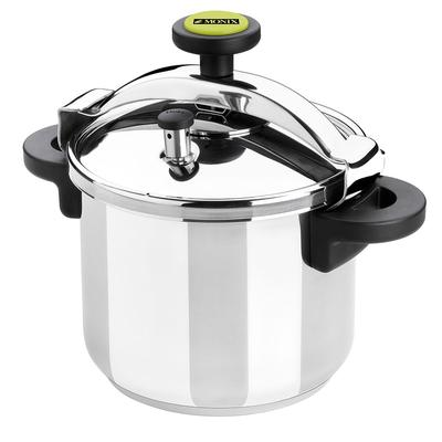 Matfer 013206 12.66 qt Pressure Cooker w/ Plastic Handles, Stainless Steel on Sale