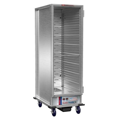 Winholt NHPL-1836C-DGT Full Height Non-Insulated Mobile Heated Cabinet w/ (35) Pan Capacity, 120v on Sale